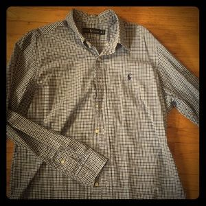 Ralph Lauren men's long sleeve button down XL